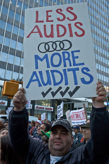 audit and wall street One of the biggest accounting firms on wall street had six of its  of the public  company accounting oversight board, an auditor watchdog that.