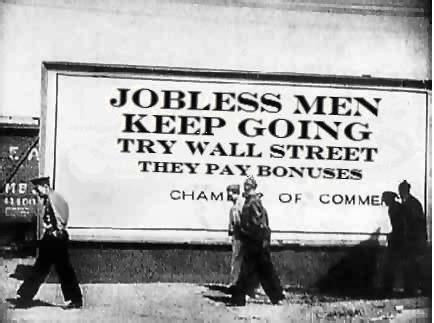 Jobless men keep going (flickr Mike Licht)